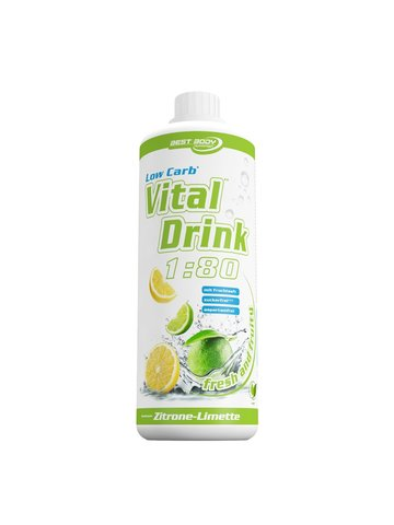 Best Body Nutrition Low Carb Vital Drink, 1 Liter Flasche