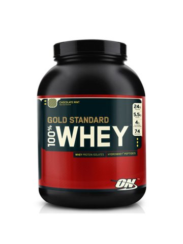 Optimum Nutrition 100% Whey Protein, 2273g Dose