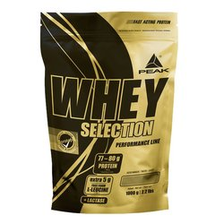 Peak Whey Selection, 1000g Beutel
