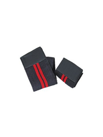 Best Body Equipment Handgelenk Bandage black red, Paar