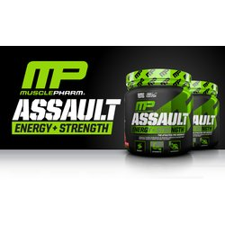 Musclepharm Assault, 345g Dose