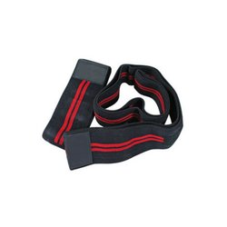Best Body Equipment Kniebandagen black red