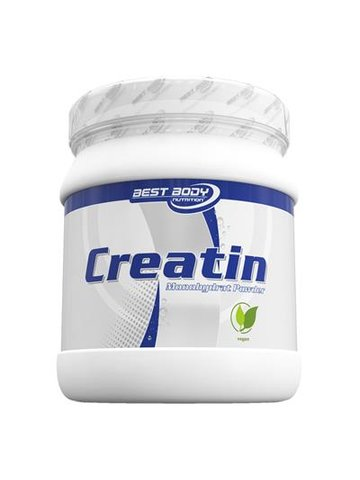 Best Body Nutrition, Creatin Monohydrat 500g Dose