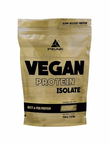PEAK Vegan Protein Isolate, 750g Beutel
