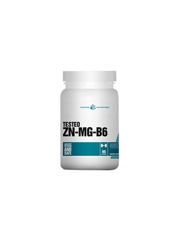 Tested Nutrition Zn-Mg-B6, 90 Caps