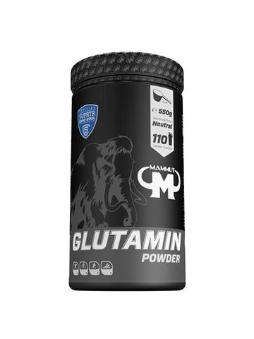 Mammut Nutrition Glutamin Powder - 550g Dose