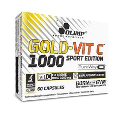 Olimp Gold-Vit C 1000 Sport Edition, 60 Caps