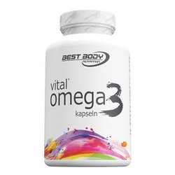 Best Body Nutrition Vital Omega 3, 120 Kapseln