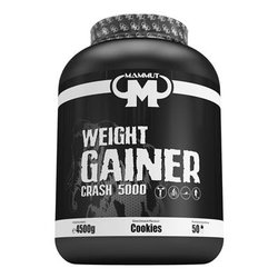 Mammut Weight Gainer Crash 5000, 4500g Dose