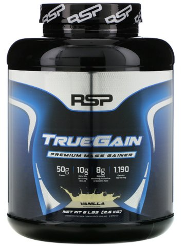 RSP Nutrition True Gain Mass Gainer 2,7 Kg