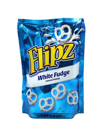 Flipz White Fudge Covered Pretzel, 90g