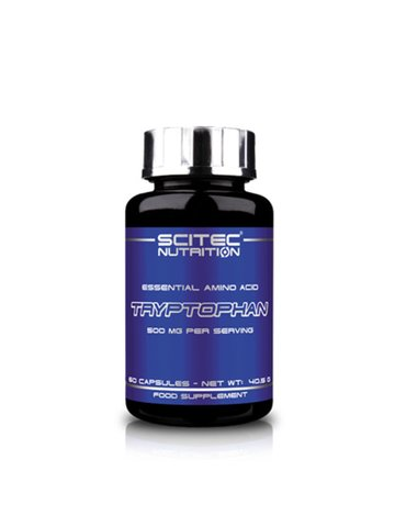 Scitec Nutrition Tryptophan, 60 Kapseln Dose
