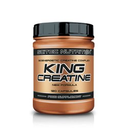 Scitec Nutrition King Creatine, 120 Kapseln Dose